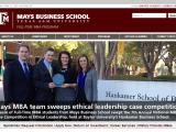 Mays MBA Awards Promotion